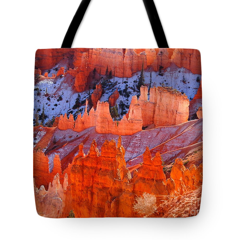 Utah Tote Bag featuring the photograph Bryce Canyon Utah by Jennifer Craft