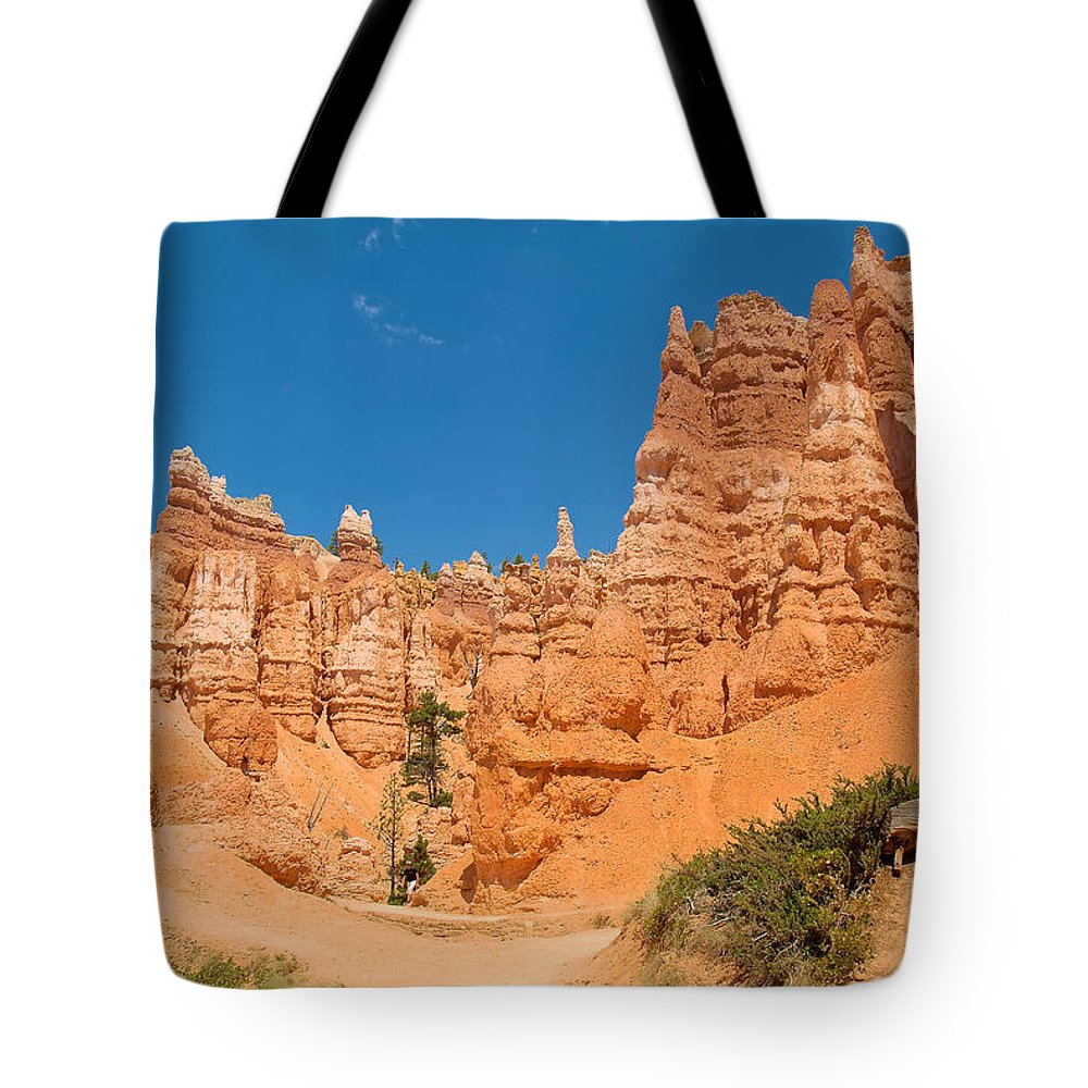 Bryce Canyon Tote Bag featuring the photograph Bryce Hills 5 by Richard J Cassato