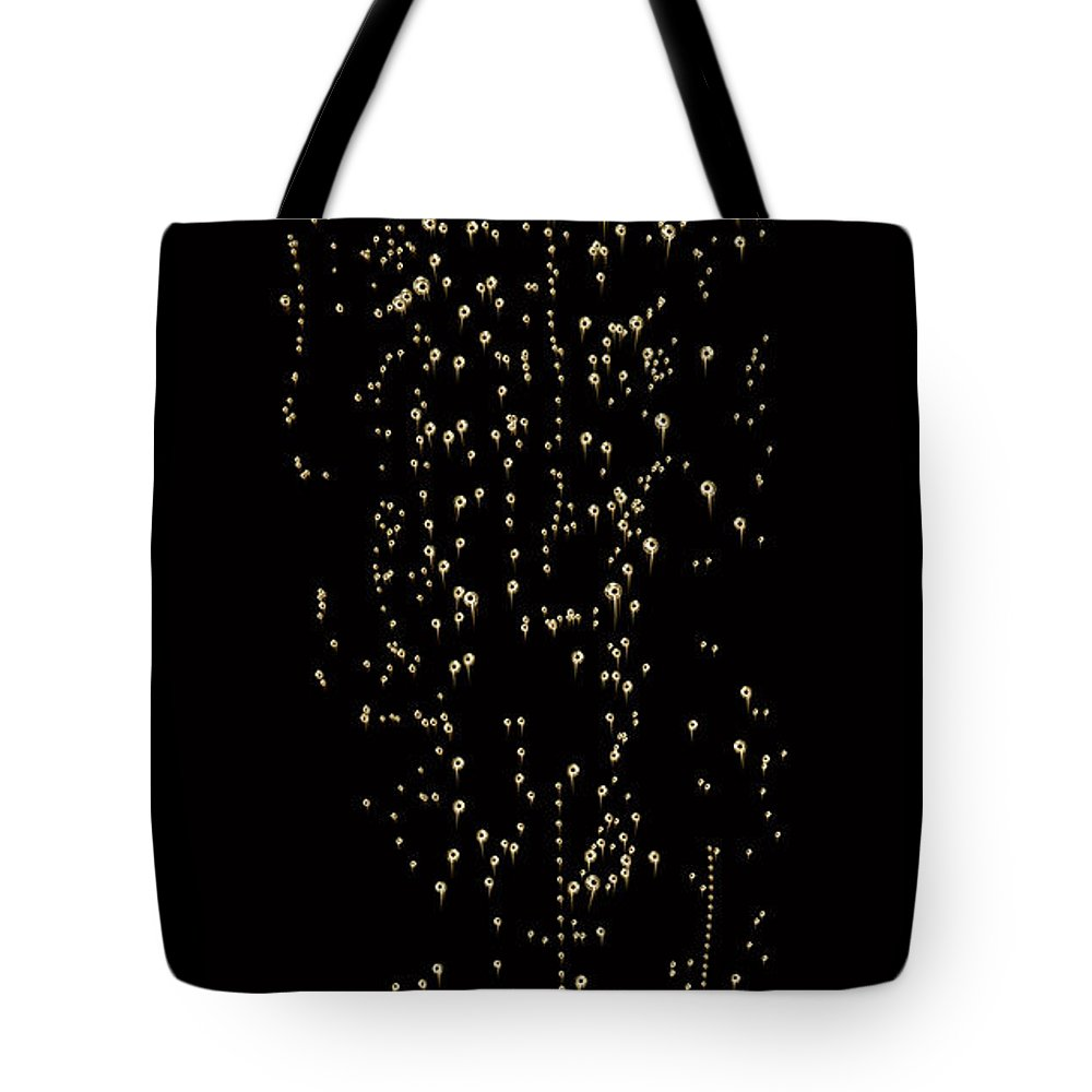Alcohol Tote Bag featuring the photograph Bubble Champagne by Jamesachard