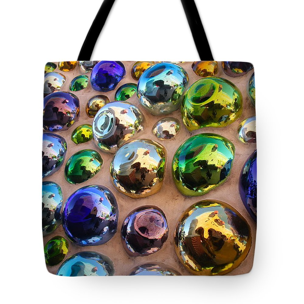 Abstract Tote Bag featuring the photograph Bubble Up by Denise Mazzocco