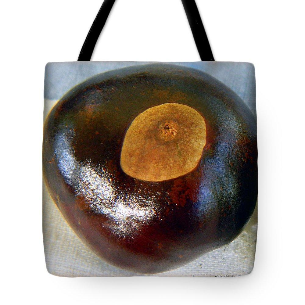 Buckeye Tote Bag featuring the photograph Buckeye by Kathy Barney