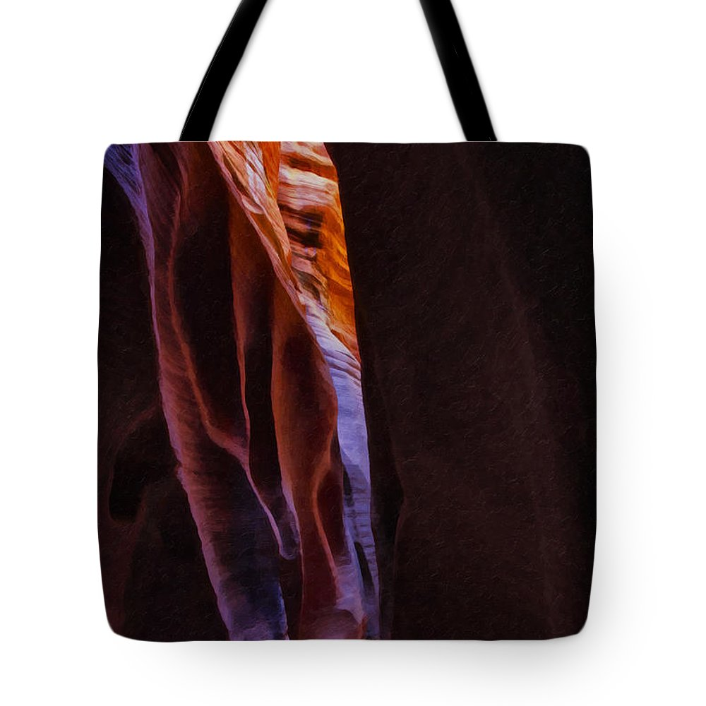 Beautyinnature Tote Bag featuring the photograph Buckskin Gulch 16 by Ingrid Smith-Johnsen