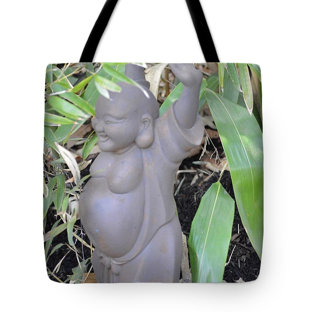 Chinese Culture Tote Bag featuring the photograph Budai by Sonali Gangane