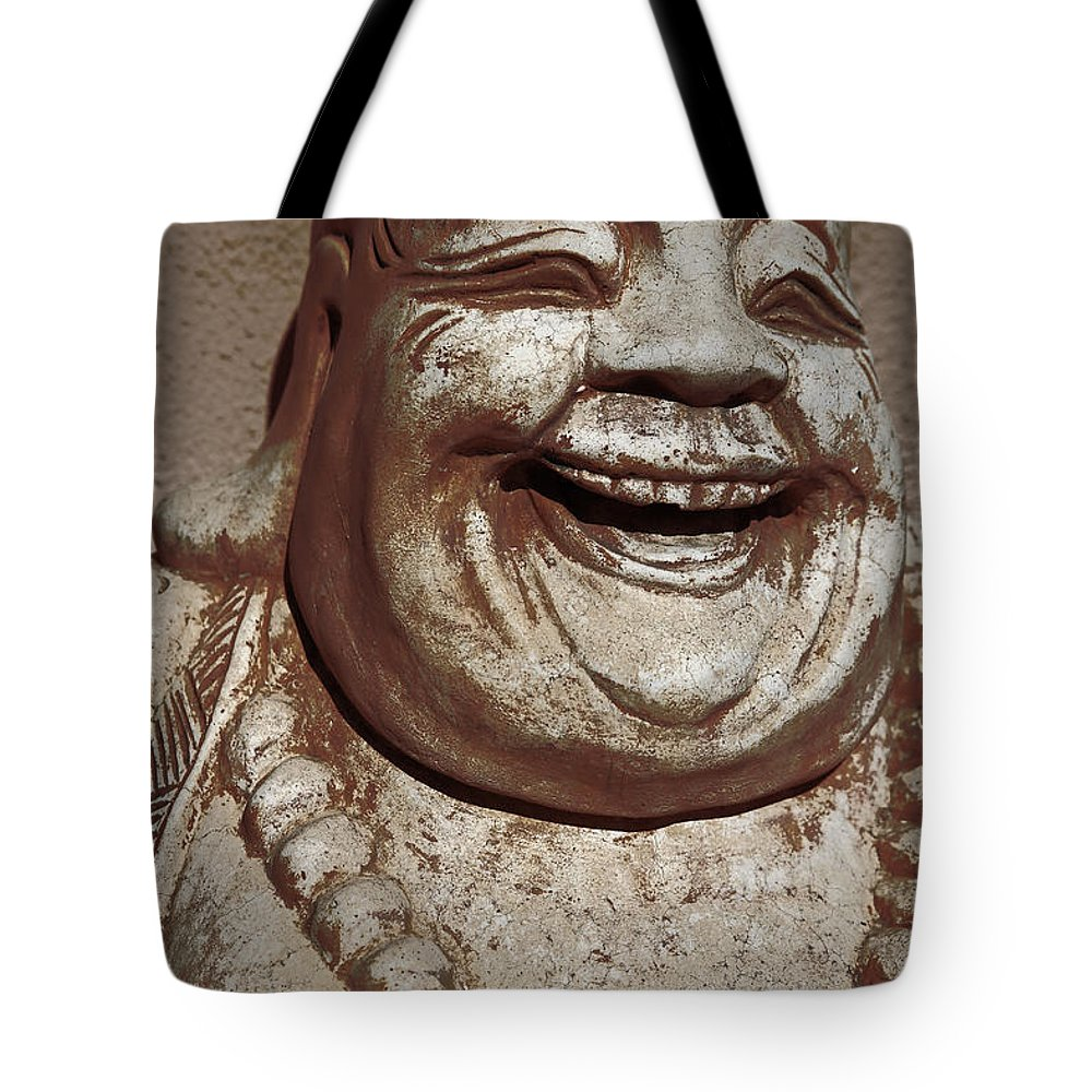Buddha Tote Bag featuring the photograph Buddha 15 by Lynn Sprowl