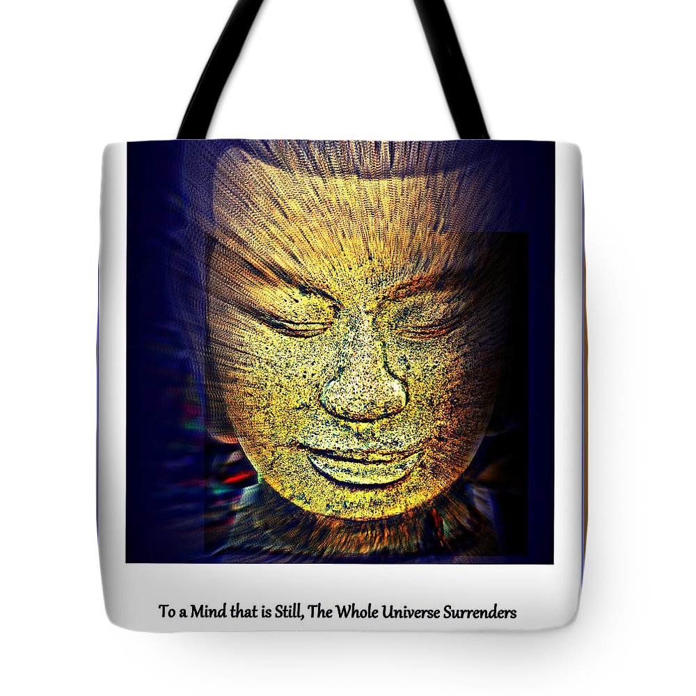 Buddha Tote Bag featuring the photograph Buddhas Mind by Susanne Van Hulst