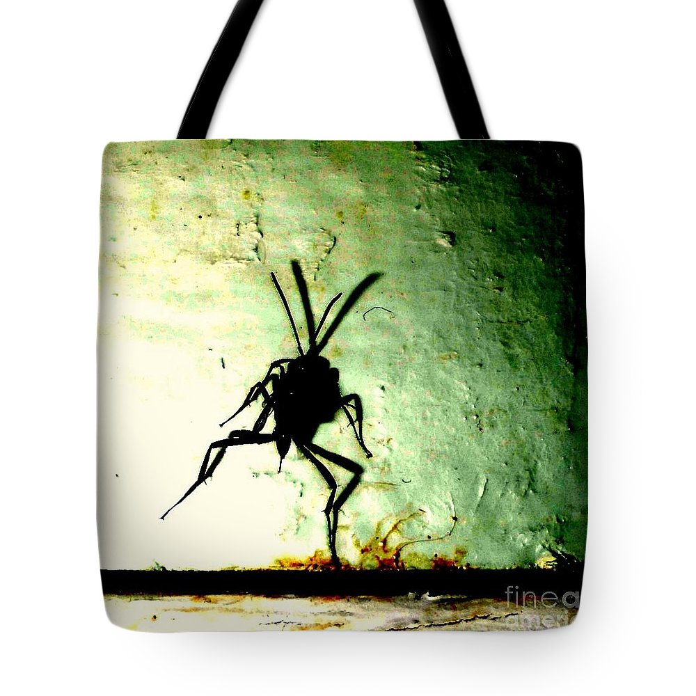 Bug Tote Bag featuring the photograph Bug by JoNeL Art