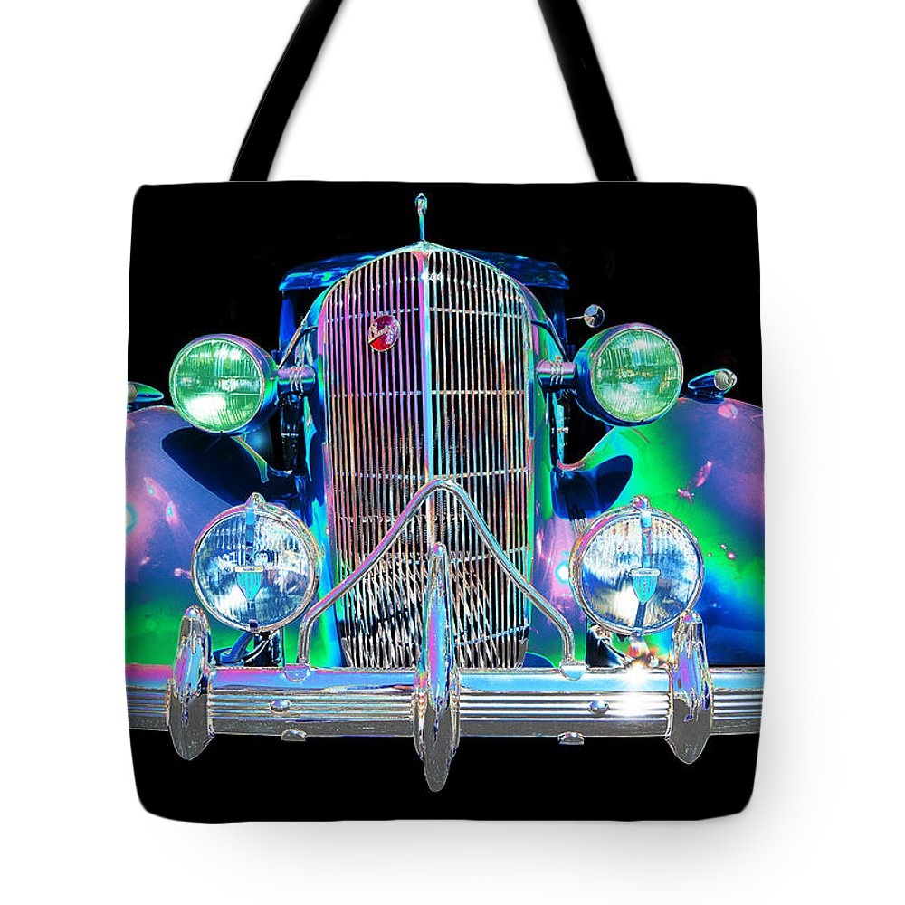 1935 Buick Tote Bag featuring the photograph Buick by Allan Price