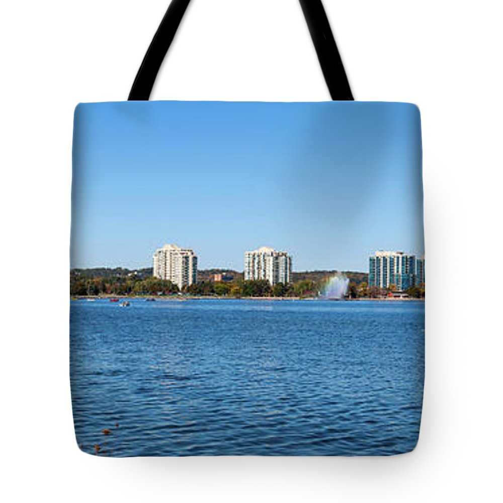 Photography Tote Bag featuring the photograph Buildings At The Waterfront, Kempenfelt by Panoramic Images