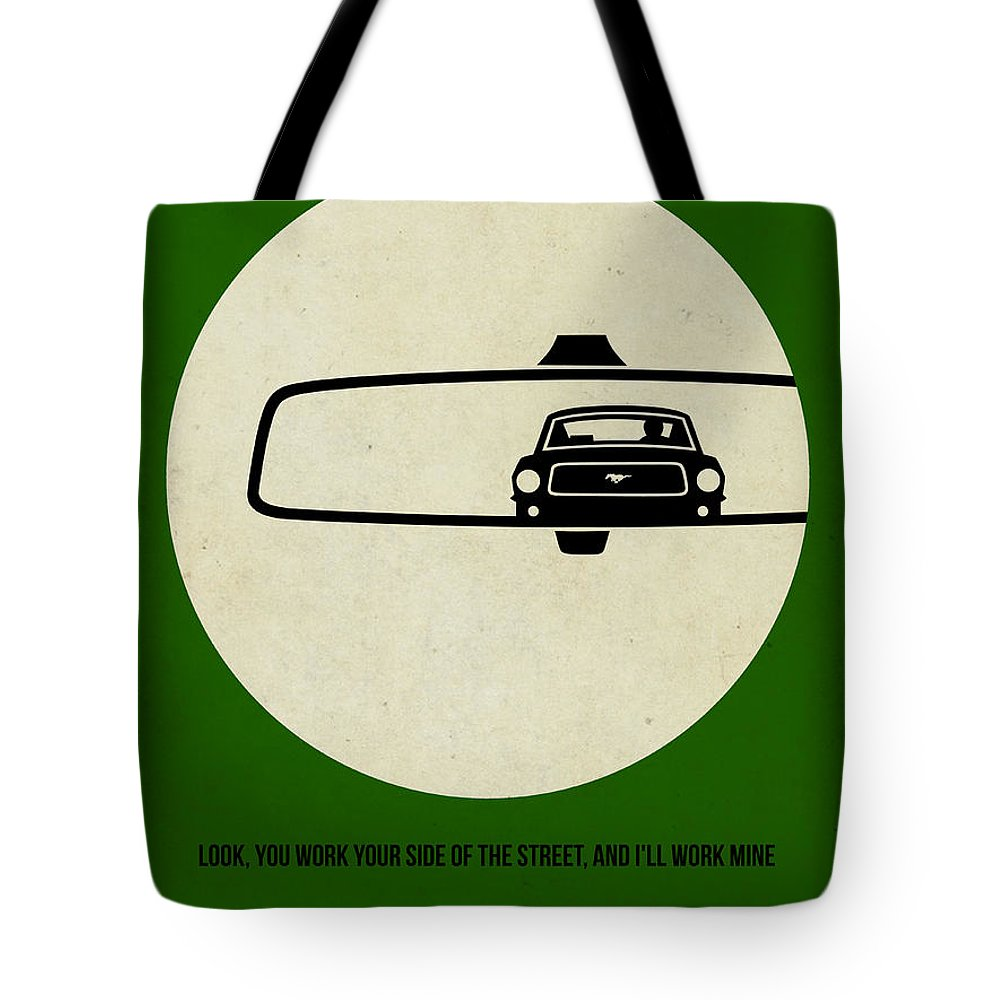 Bullitt Tote Bag featuring the painting Bullitt Poster by Naxart Studio