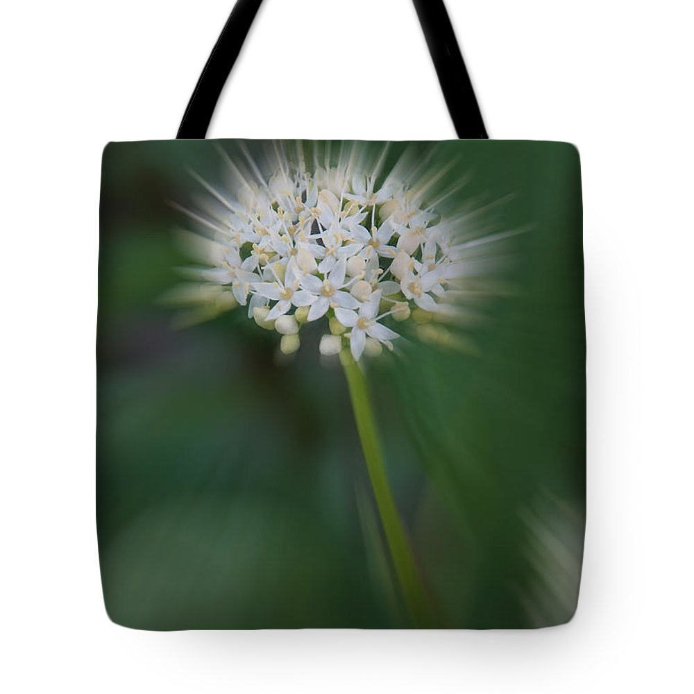 Special Effect Tote Bag featuring the photograph Bursting Bloom by Mick Anderson