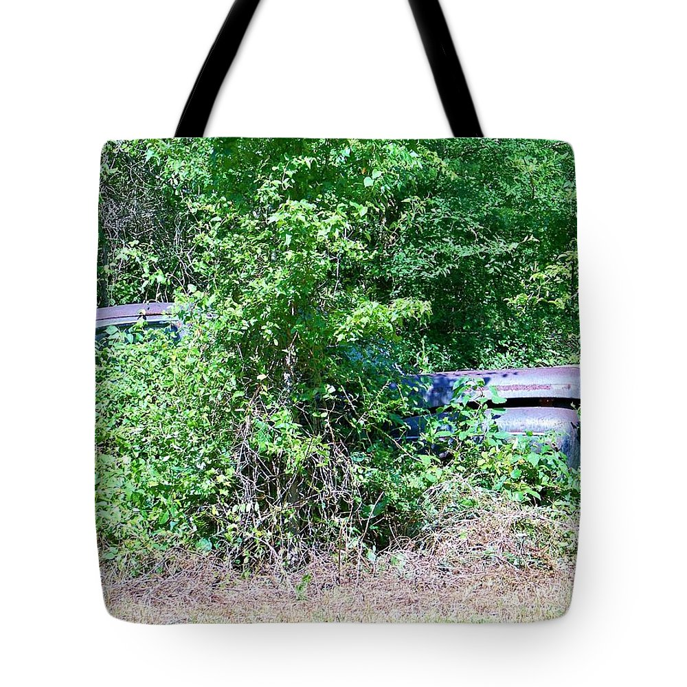 Bush Tote Bag featuring the photograph Bushed by Chuck Hicks