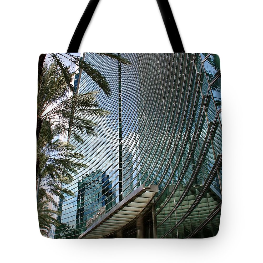 Business City Skyscraper Building Architecture Tote Bag featuring the photograph Business by AR Annahita