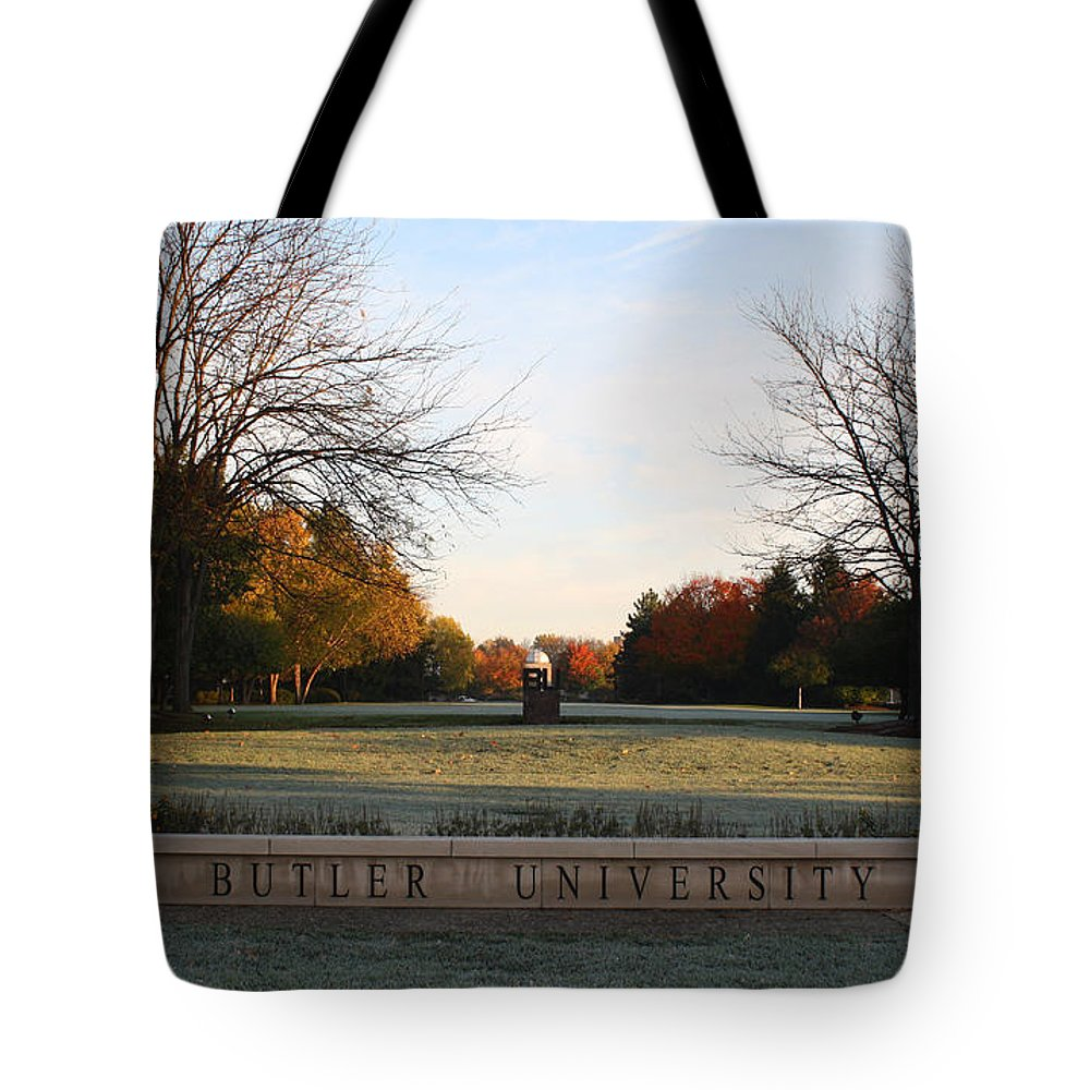 Butler University Tote Bag featuring the photograph Butler University Mall by Dan McCafferty