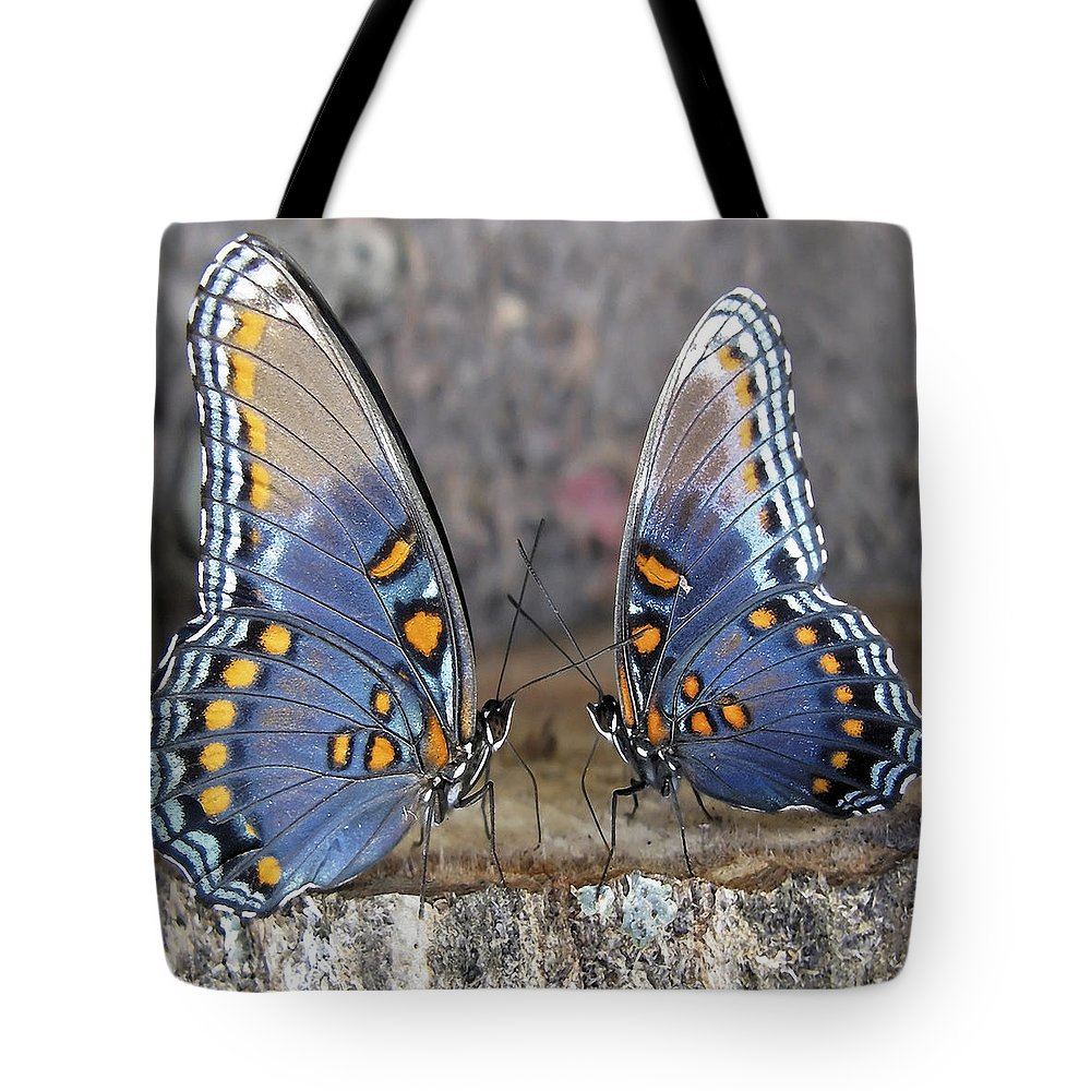 Butterfly Tote Bag featuring the photograph Butterfly 007 by Ingrid Smith-Johnsen
