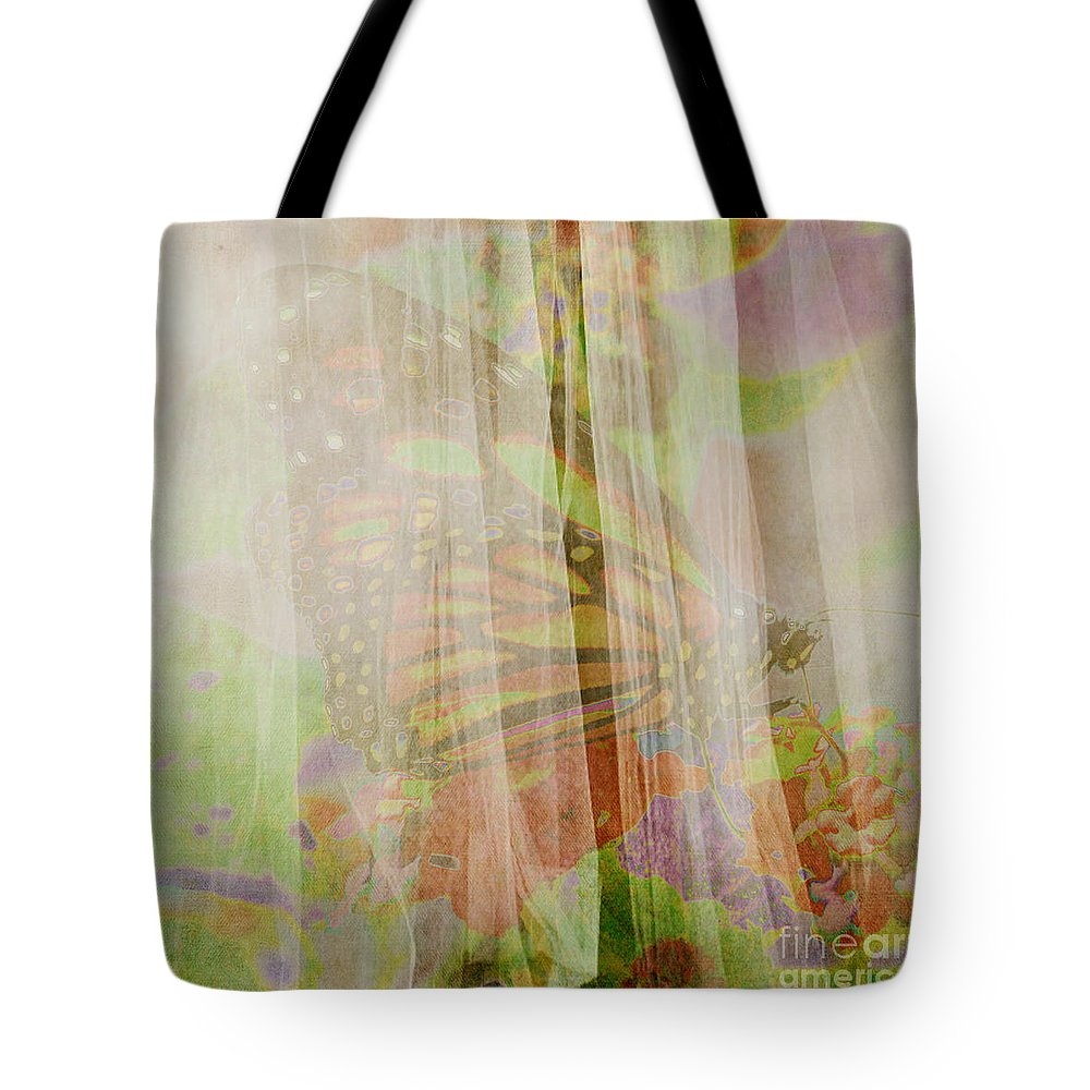 Butterfly Art Tote Bag featuring the photograph Butterfly Art by Beverly Guilliams