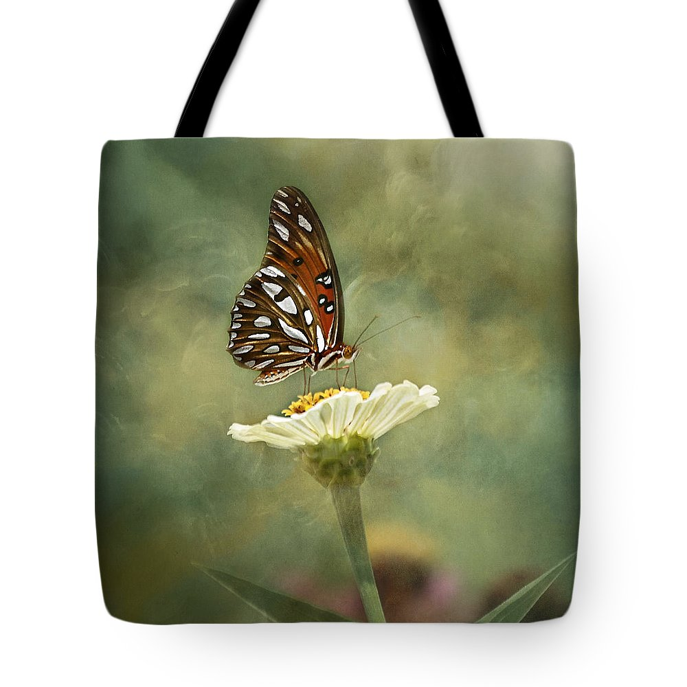 Butterfly Tote Bag featuring the photograph Butterfly Dreams by Kim Hojnacki