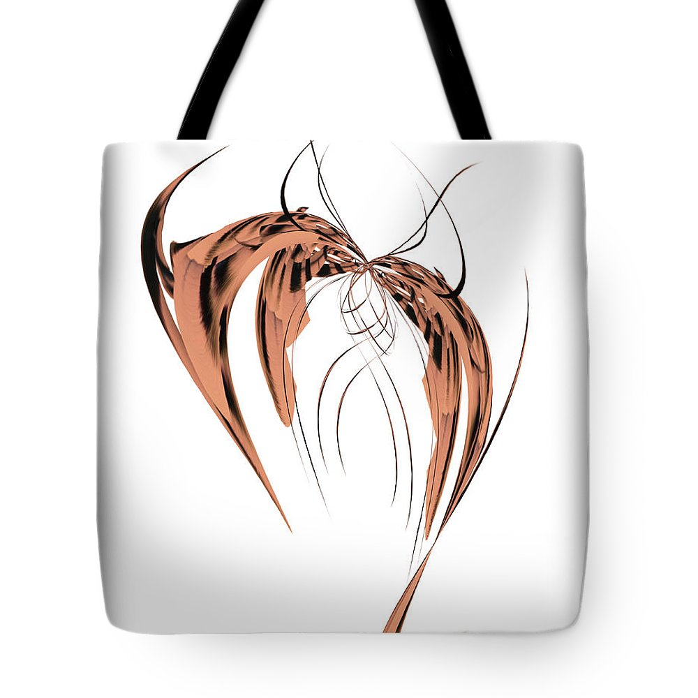 Design Tote Bag featuring the photograph Butterfly I by Tami Stieger