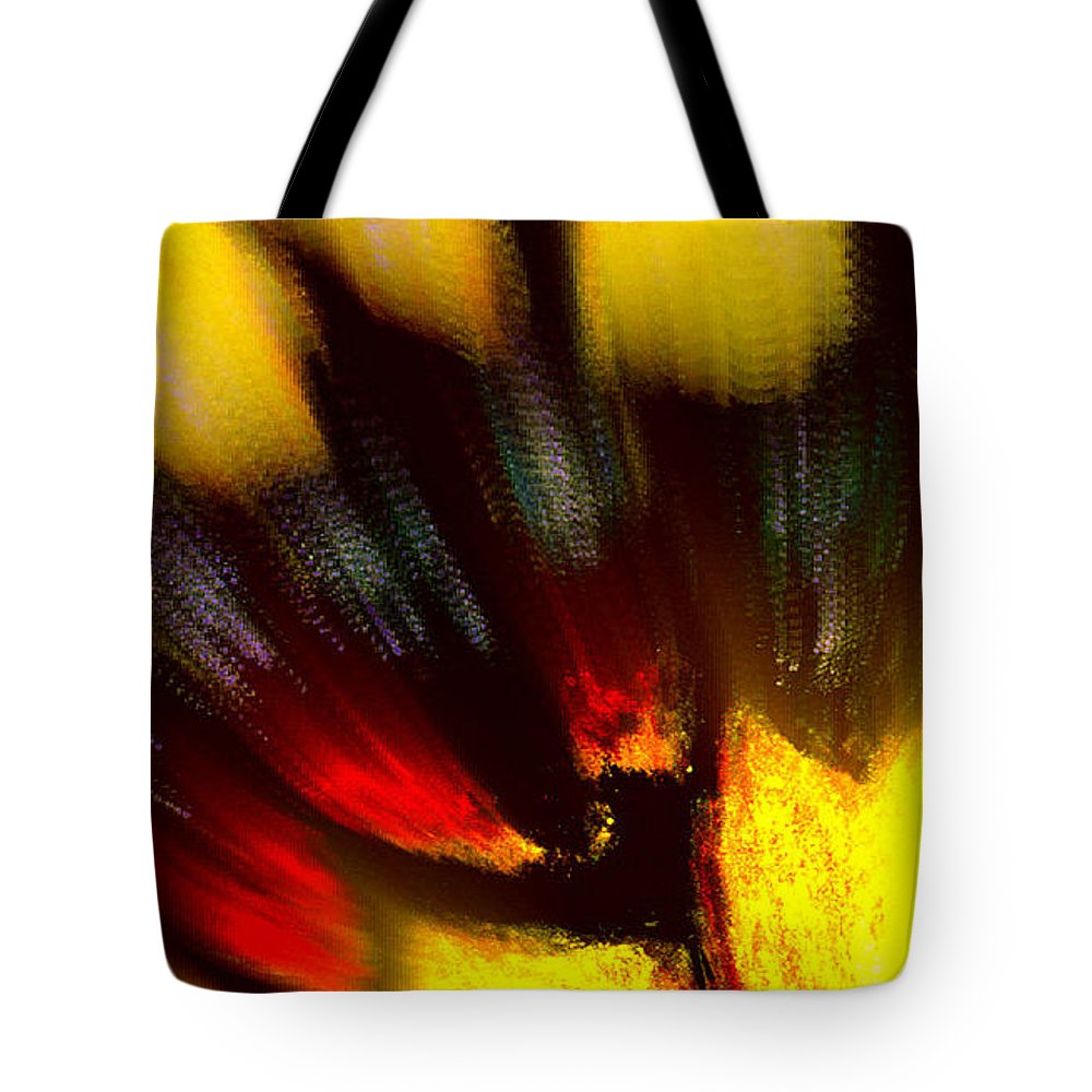 Butterfly Tote Bag featuring the digital art Butterfly Wing Pastel by Antonia Citrino
