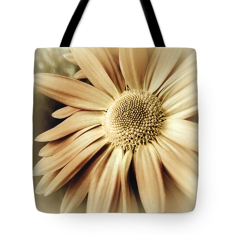 Floral Tote Bag featuring the photograph Butterscotch Egg Nog by Darlene Kwiatkowski