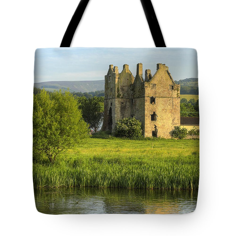 Abandoned Tote Bag featuring the photograph By The River Suir by Artur Bogacki
