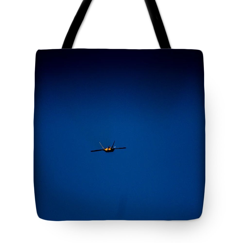 Tote Bag featuring the photograph Bye by Sue Conwell
