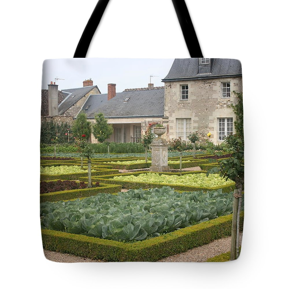 Cabbage Tote Bag featuring the photograph Cabbage Garden Chateau Villandry by Christiane Schulze Art And Photography