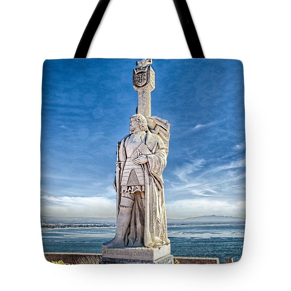 Point Loma California Tote Bag featuring the photograph Cabrillo National Monument - Point Loma California by Jon Berghoff