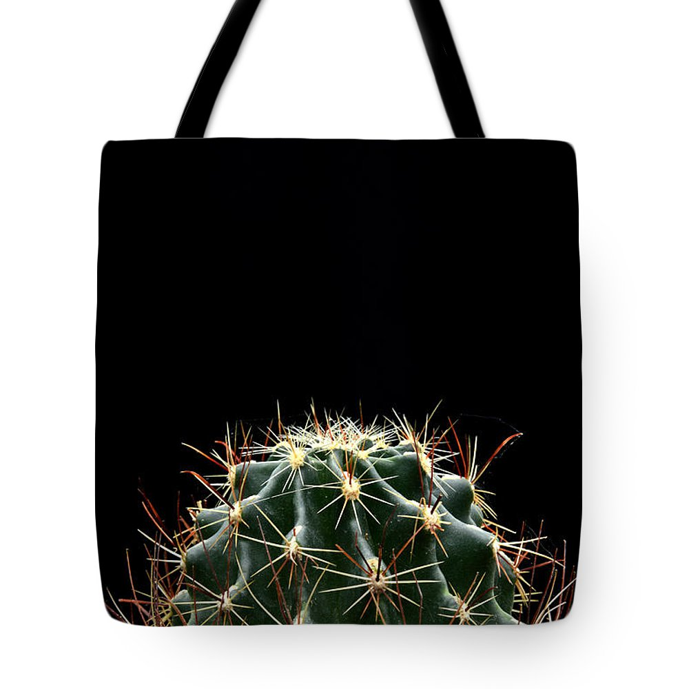 Cactus Tote Bag featuring the photograph Cactus by Antoni Halim