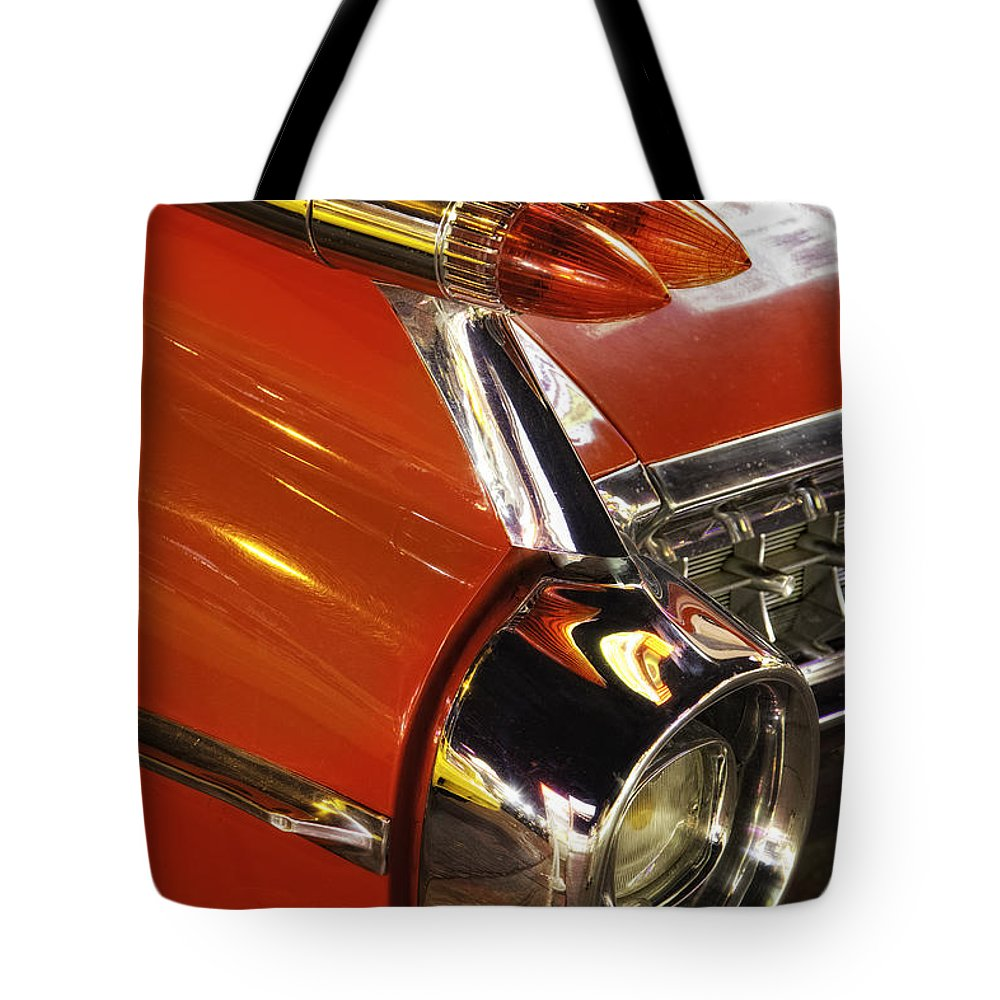 Las Vegas Tote Bag featuring the photograph Caddie by Timothy Hacker
