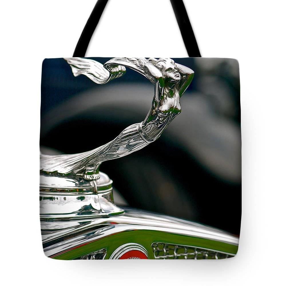 Car Tote Bag featuring the photograph Caddy Beauty by Douglas Perry