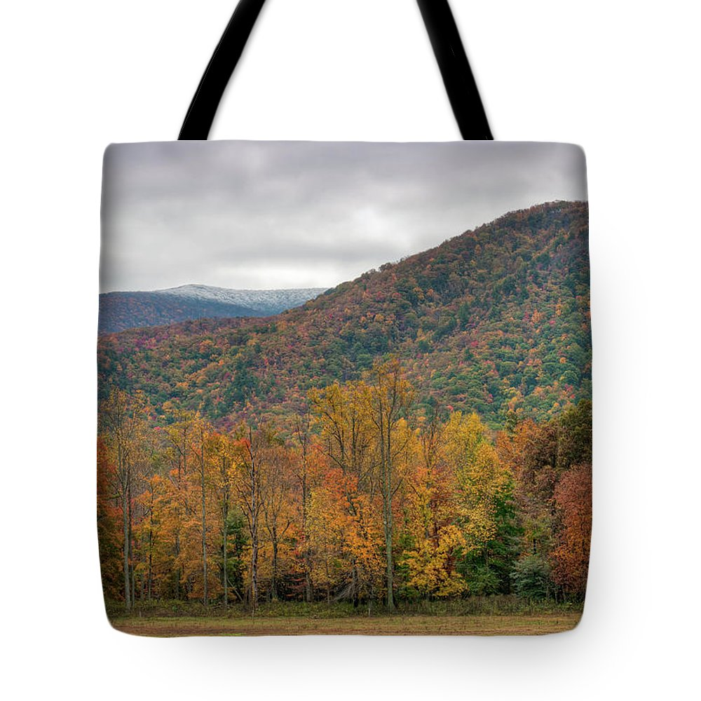 Scenics Tote Bag featuring the photograph Cades Cove, Great Smoky Mountains by Fotomonkee