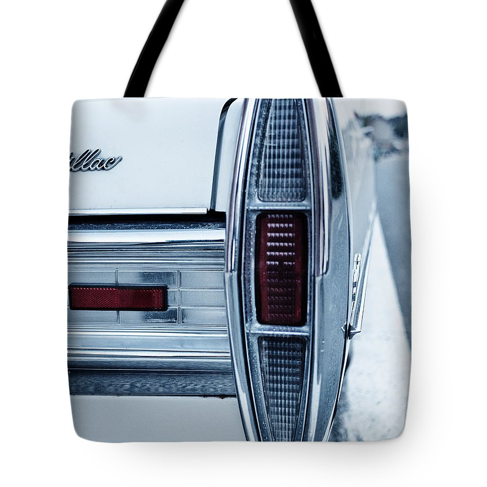 Sedan De Ville Tote Bag featuring the photograph Cadillac by Brothers Beerens
