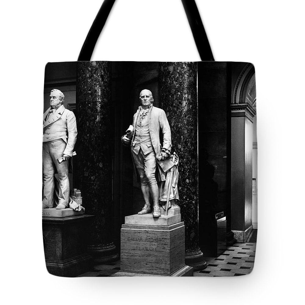 18th Century Tote Bag featuring the photograph Caesar Rodney (1728-1784) by Granger