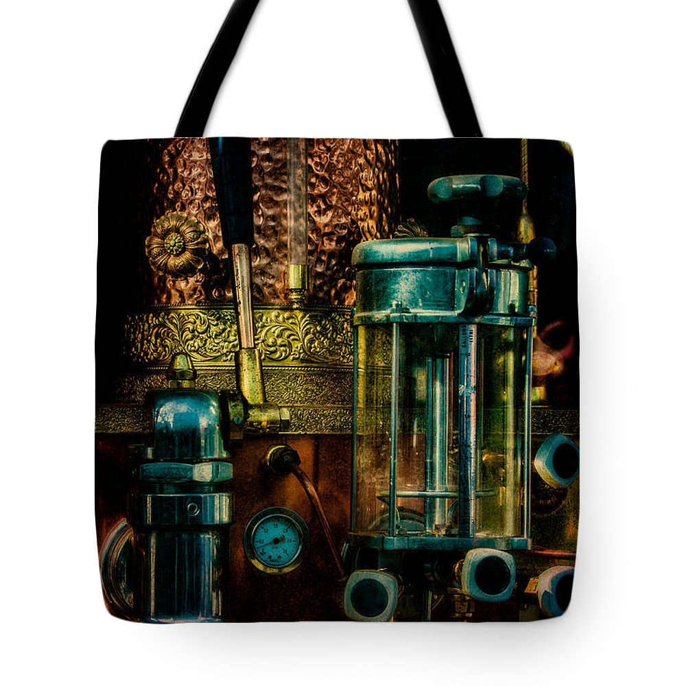 Coffee Tote Bag featuring the photograph Cafe Italiano by Chris Lord