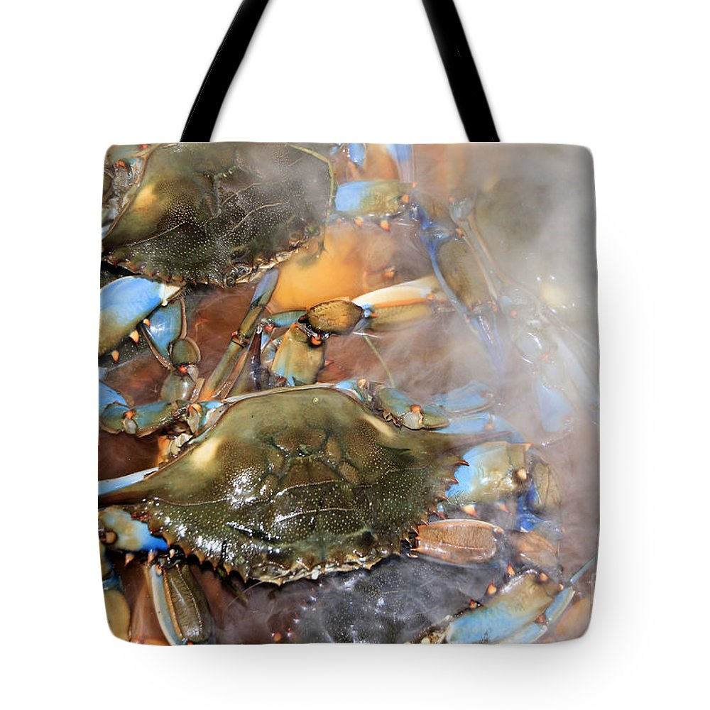 Cajun Feast Tote Bag featuring the photograph Cajun Feast by Karry Degruise