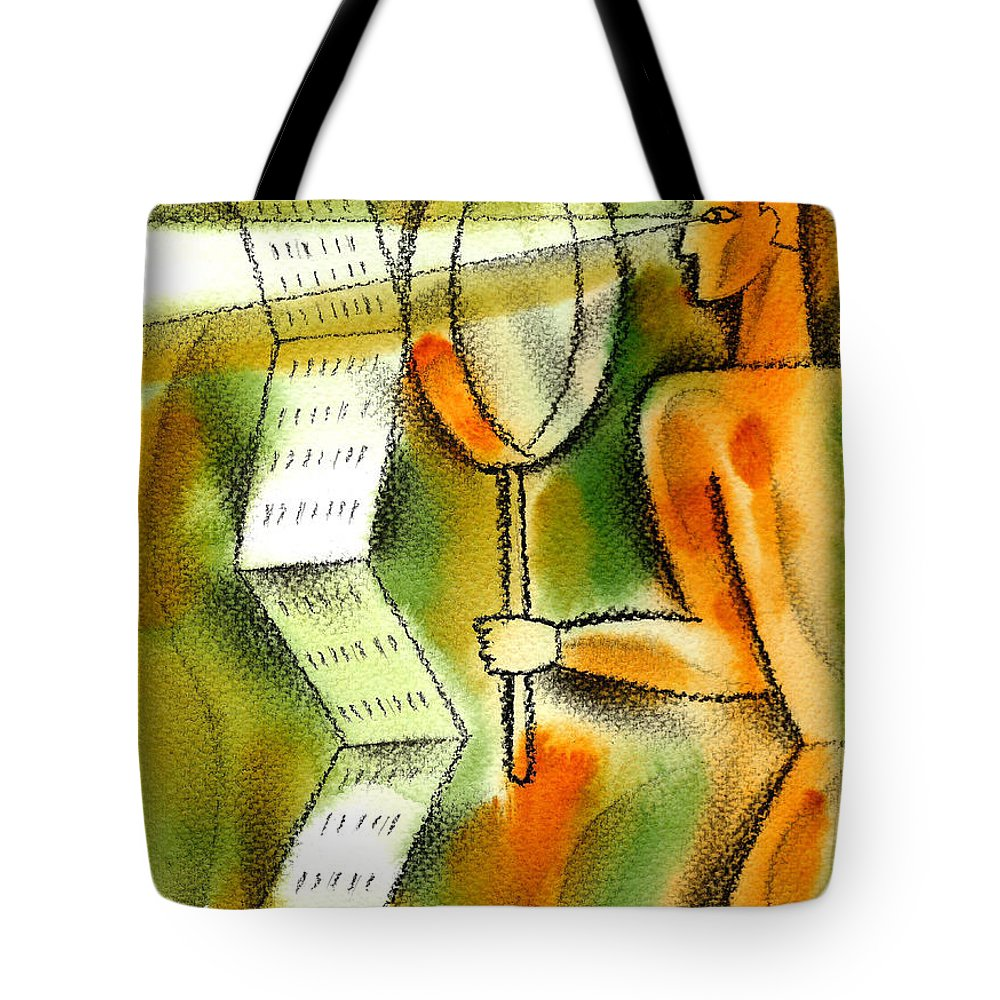 Calculation Paintings Tote Bags