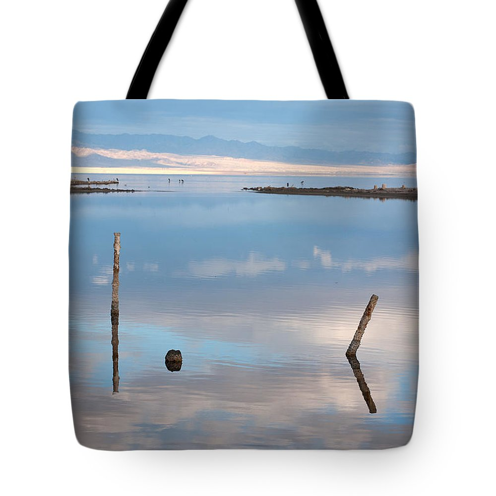 Big Sky Tote Bag featuring the photograph Calm by Peter Tellone