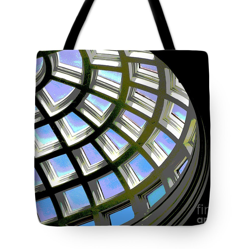 Cantor Museum Tote Bag featuring the photograph Cantor Museum by Jacklyn Duryea Fraizer