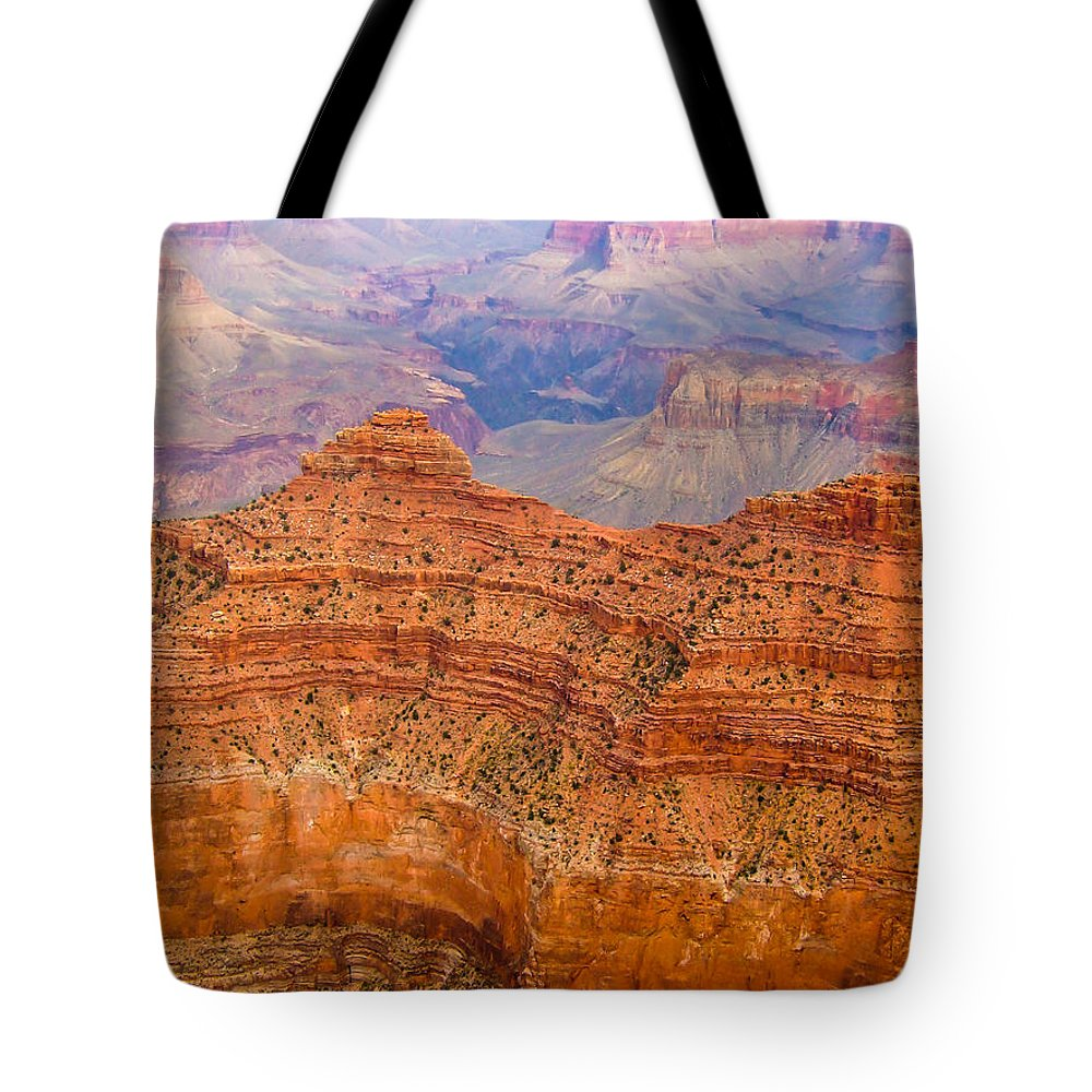Landscape Tote Bag featuring the photograph Canyon Colors by Marc Crumpler
