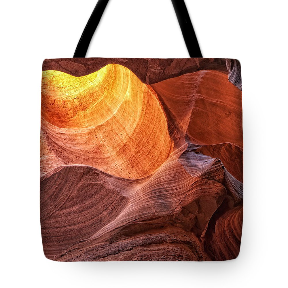 Canyon X Tote Bag featuring the photograph Canyon Light by Claudia Kuhn