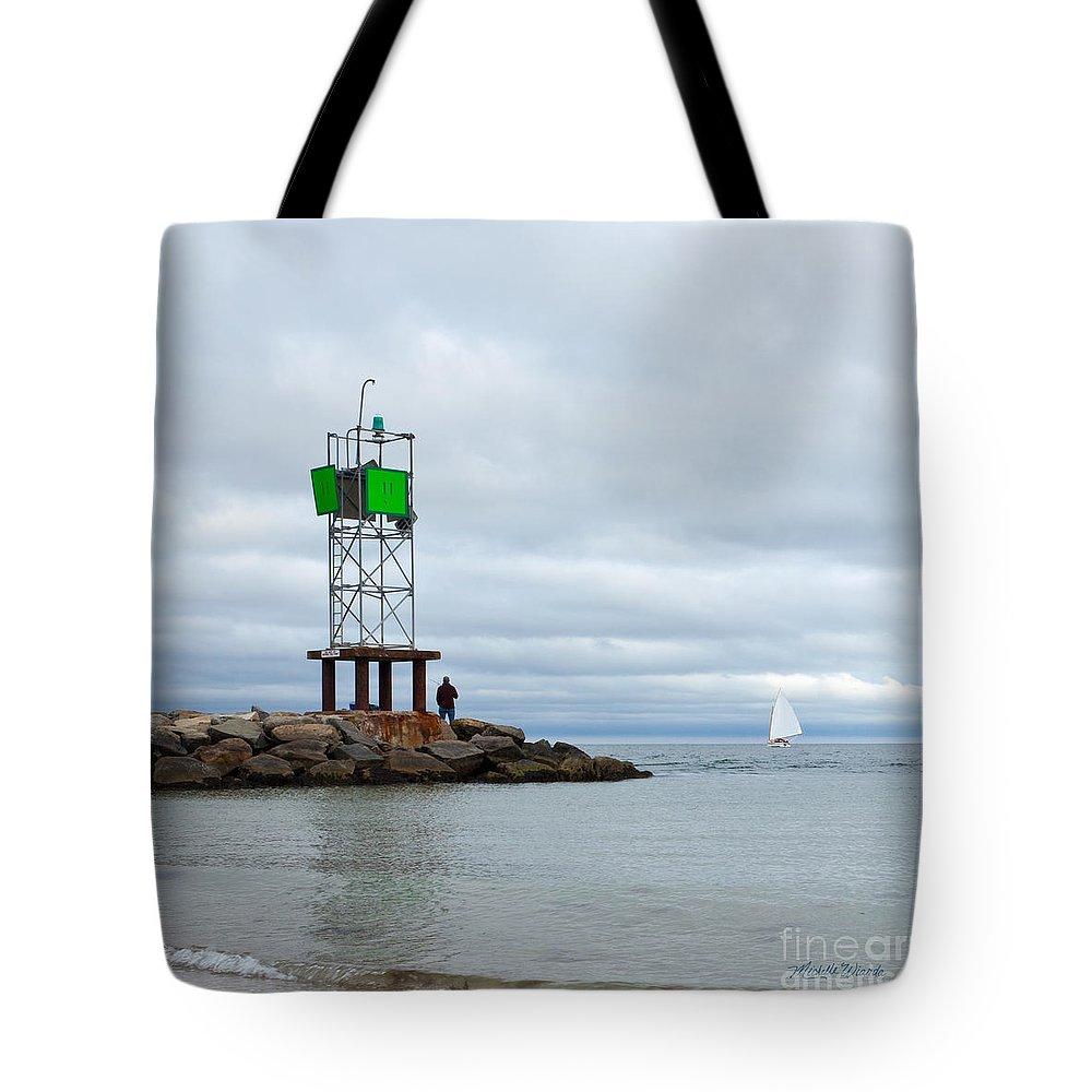 Cape Cod Sea Life Tote Bag featuring the photograph Cape Cod Sea Life by Michelle Constantine