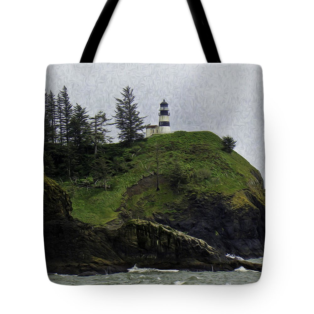 Cape Tote Bag featuring the photograph Cape Disappointment by James Ekstrom
