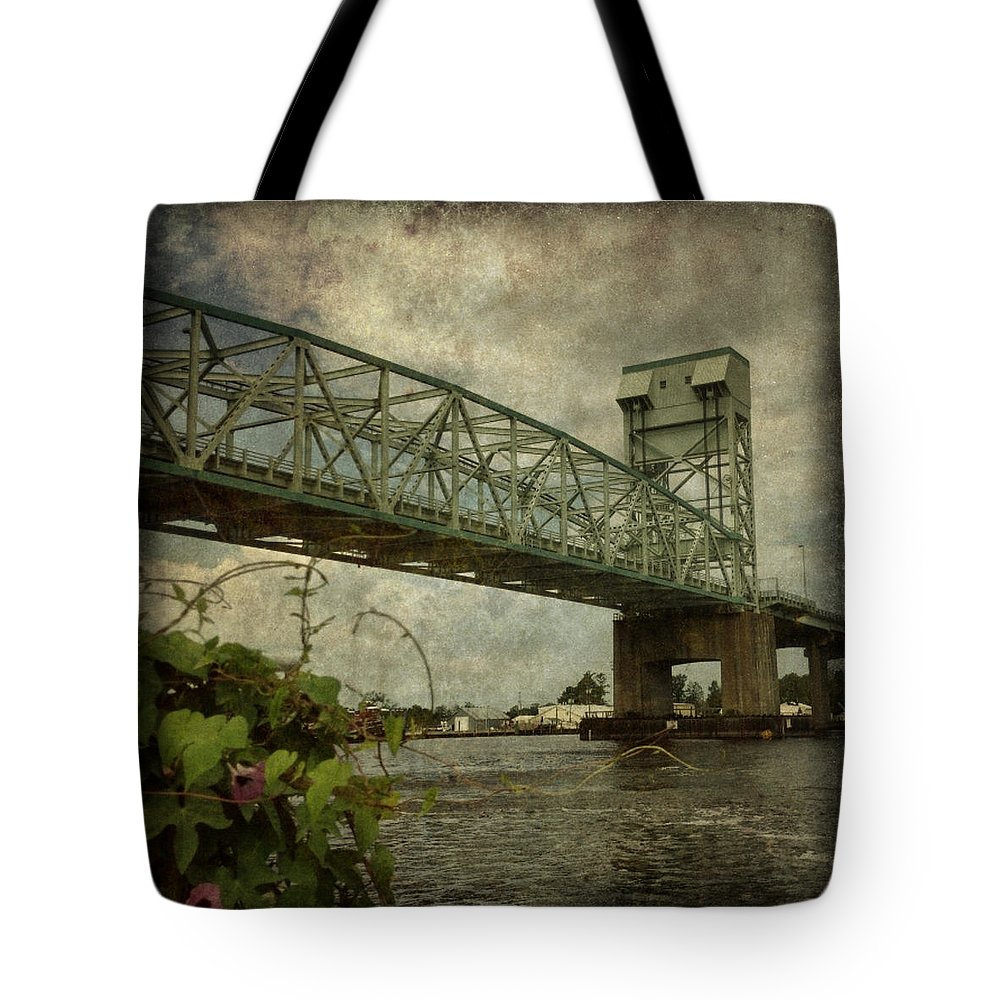 Wilmington Tote Bag featuring the photograph Cape Fear Morning Glory by Dorian Hill