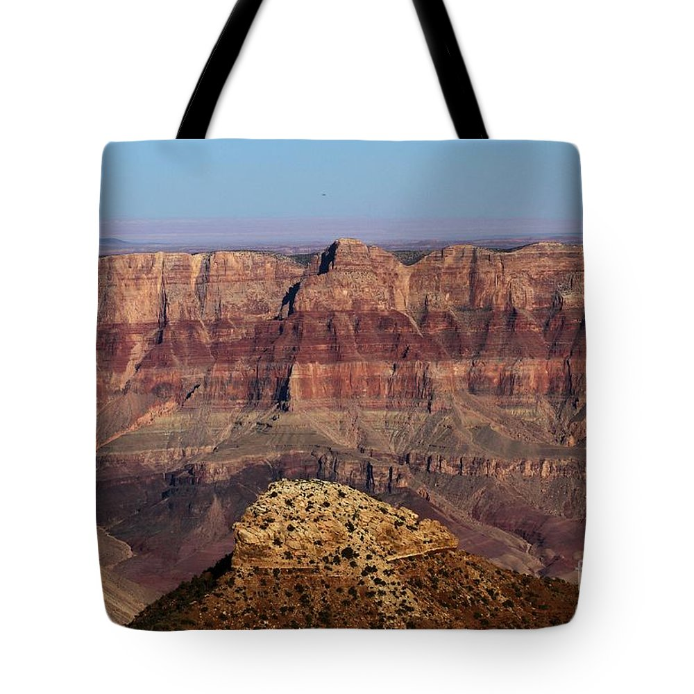 Cape Final Tote Bag featuring the photograph Cape Final Walls by Adam Jewell