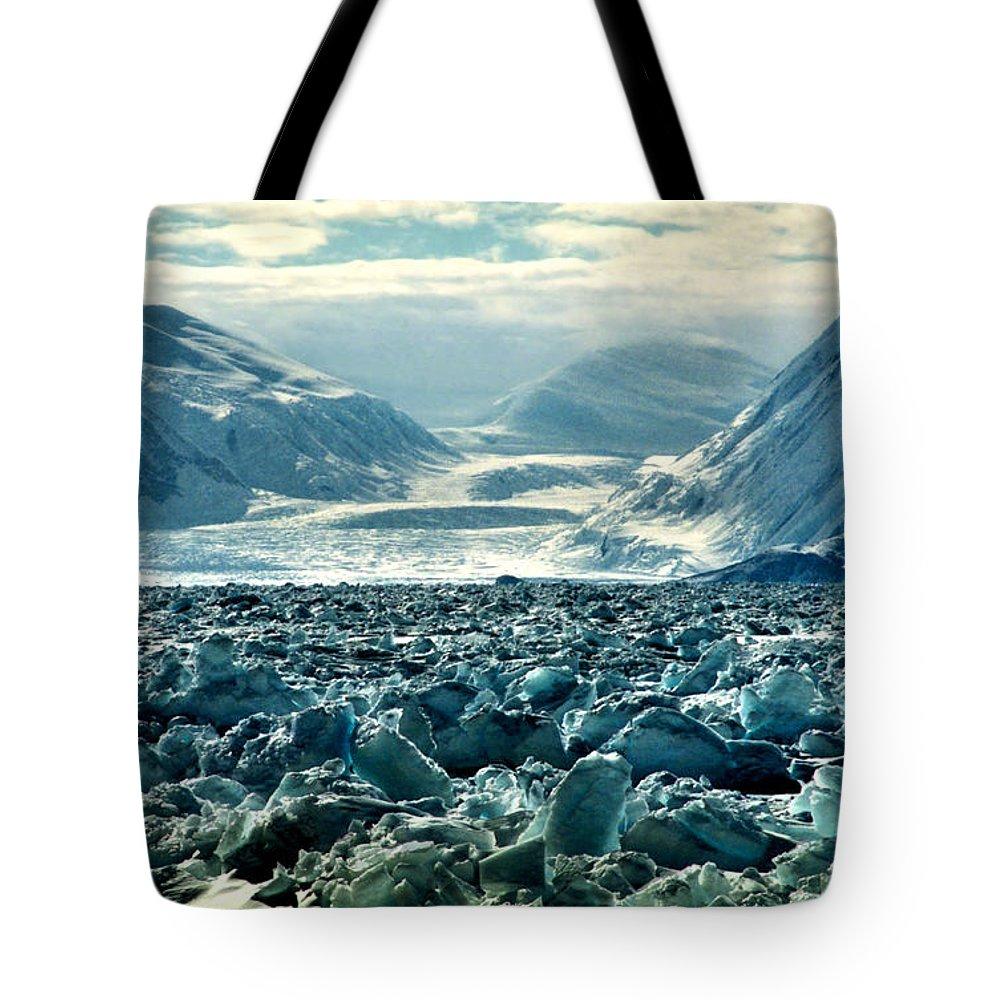Landscape Tote Bag featuring the photograph Cape Hallett Ross Sea Antarctica by Carole-Anne Fooks