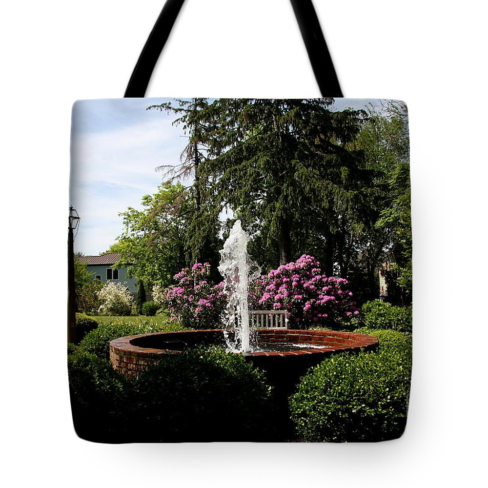 Park Tote Bag featuring the photograph Cape Henlopen Park by Christiane Schulze Art And Photography