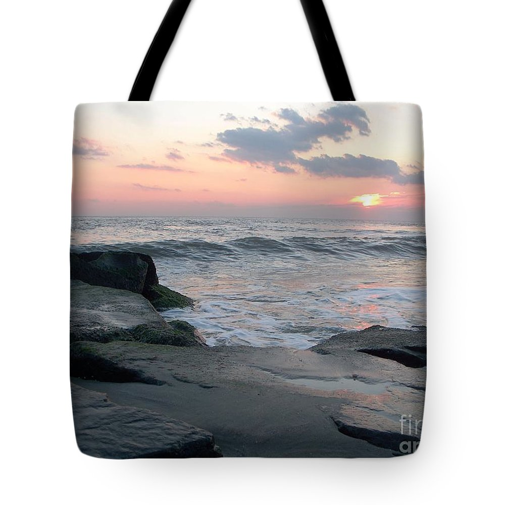 Cape May Tote Bag featuring the photograph Cape May by Eric Schiabor