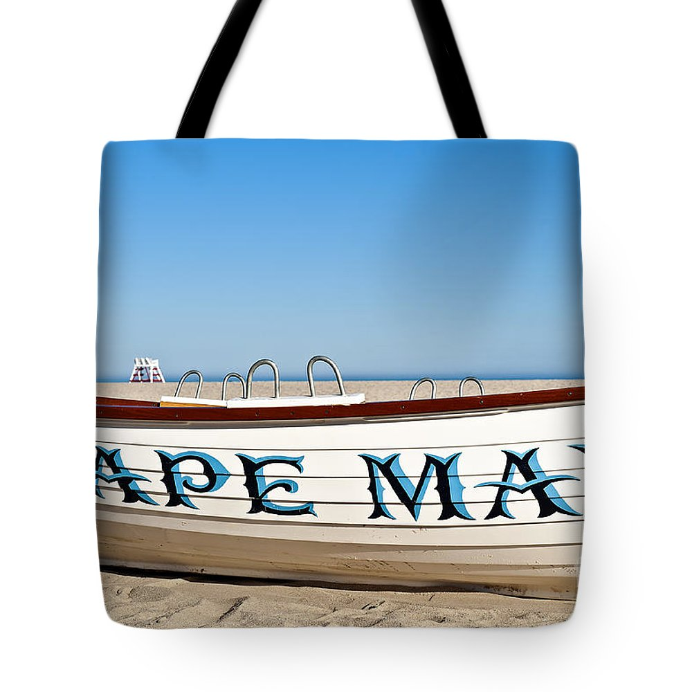 Beach Tote Bag featuring the photograph Cape May New Jersey by John Greim