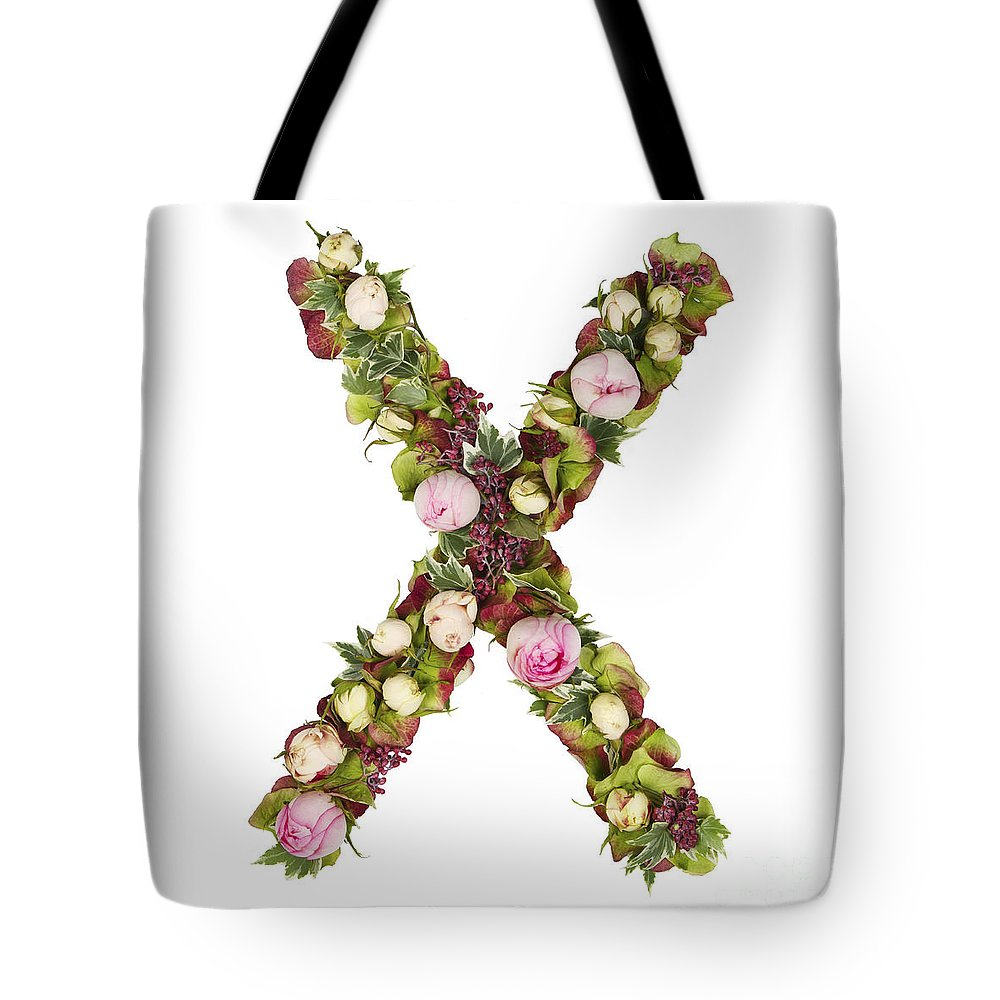 Growth Tote Bag featuring the photograph Capital Letter X by Ben Massiot