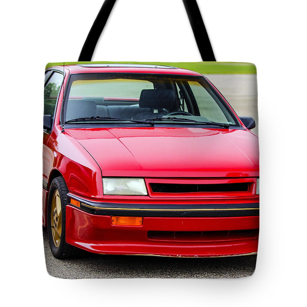 Dodge Shelby Csx Tote Bag featuring the photograph Car Show 032 by Josh Bryant